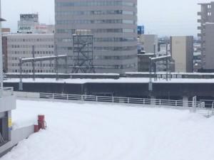 新幹線のレール